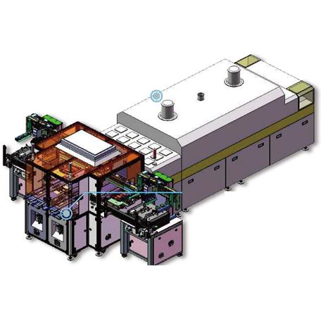 Tray盘机生产线【SXZH-1682-A+40D(平板印刷机)】